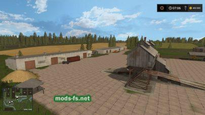 Карта «Золотое колесо» для Farming Simulator 2017