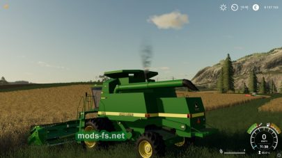 JD 9XXXSeriesCombineдля Farming Simulator 2019
