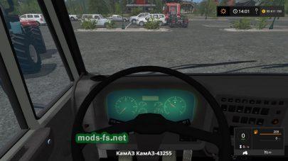 КамАЗ-43255 для игры Farming Simulator 2017