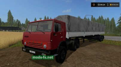 КамАЗ-5410 и прицеп NEFAZ 93344