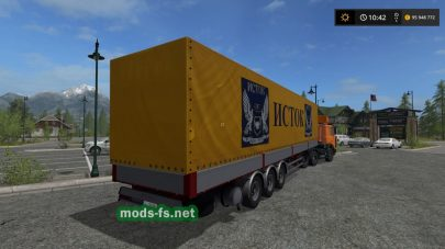 Kogel Semi Trailer