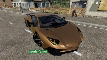 """Скриншот мода """"Lamborghini"""""""
