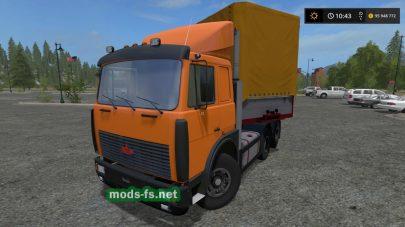 Мод тягача МАЗ-5432