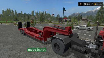 «Трал» для игры Farming Simulator 2017