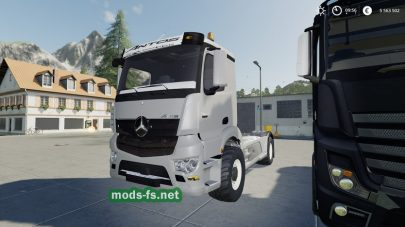 «Mercedes Trucks» для Farming Simulator 2019