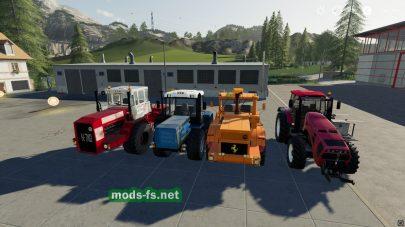 Самые мощные трактора в Farming Simulator 2019
