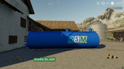 Мод на RSM Liquid Fertilizer Tank