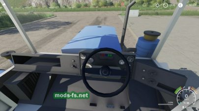 Мод на трактор с погрузчиком
