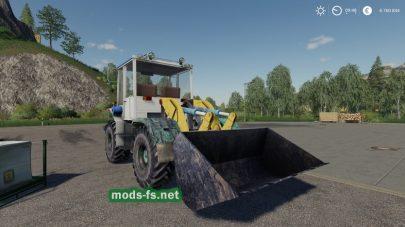 Мод на трактор SkodaLiaz150