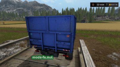 Скриншот грузовика «Ural»