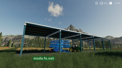 "Мод ""Vehicle Shelters"""
