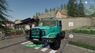 MercedesZetros3643 mod FS 19