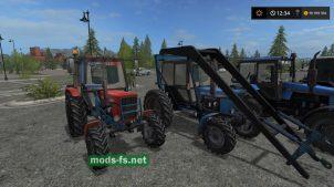 Пак тракторов МТЗ для FS 2017