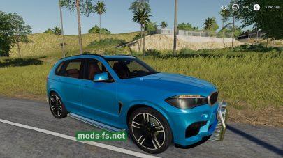 BMW X5M для Farming Simulator 2019
