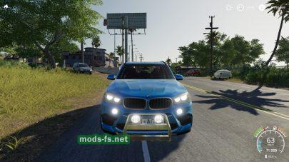 Мод на автомобиль BMW X5M