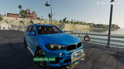 BMW X5M для игры Farming Simulator 2019