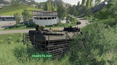 Танк в игре Farming Simulator 2019