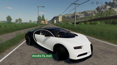 Мод на BugattiChironSport