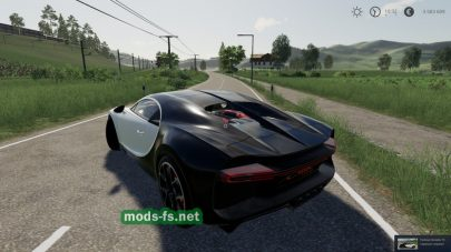 BugattiChironSport mod FS 19