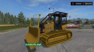 CAT D5K2 для Farming Simulator 2017