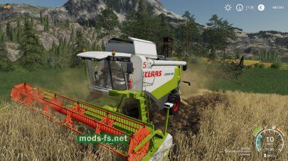 Claas Lexion 500 Series для FS 2019