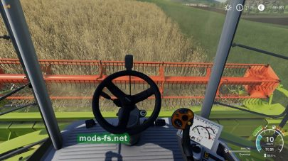 Claas Lexion в игре Farming Simulator 2019