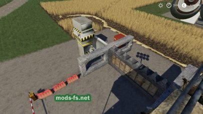 Мод на блок пост в Farming Simulator 2019