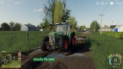 Карта с грязью для Farming Simulator 2019