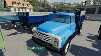 Мод грузовиков ZIL