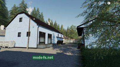 Игровая локация Agropodhradie в FS 19