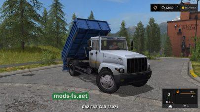 Скриншот мода «gaz saz 35071»