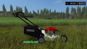 HONDA HRC 216 для Farming Simulator 2017