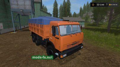 kamaz-45143 mod FS 17