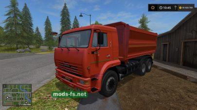 Самосвал КамАЗ-4528 в FS 17