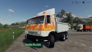 Мод на КамАЗ-53212
