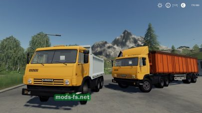 КамАЗ-5410 и прицеп SEMI