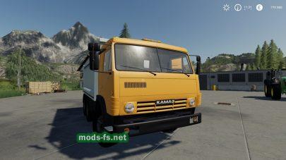 Мод на КамАЗ-5410