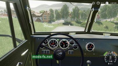 KRAZ 255B для Farming Simulator 2019