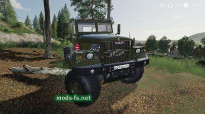 Скриншот мода «КрАЗ 255В New Life»