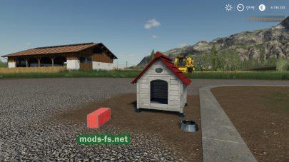 Домик для собаки в игре FS 19