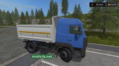 MAZ-555035 в игре FS 2017