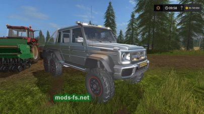 Mercedes-BenzG65 6X6 для FS 17