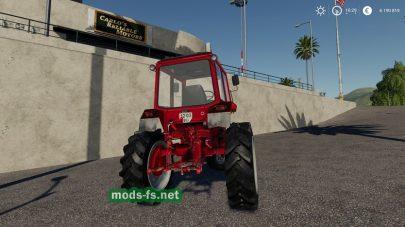 Мод трактора MTZ-80X