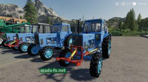 MTZ-82 / 82UK / BX100