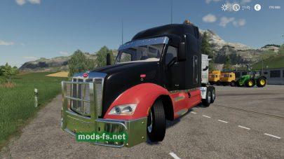 Peterbilt 579 для игры Farming Simulator 2019