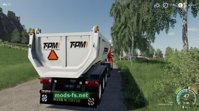 Schmitz Cargobull Tipper (TPM Version)