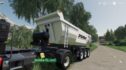 Schmitz Cargobull Tipper mod FS 19