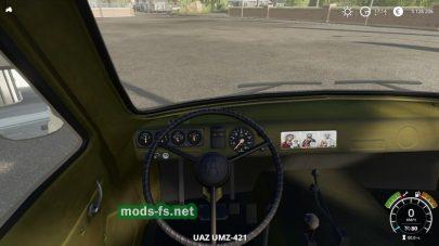 Подборка на УАЗ и модули для FS 2019
