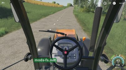 Мод трактора Ursus 8014H