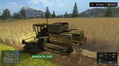 DON-1500B для Farming Simulator 2017